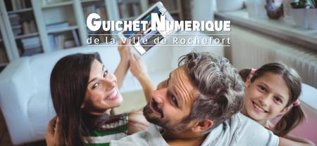 Nouveau guichet numérique de la Ville de Rochefort