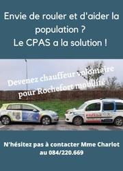 Rochefort Mobilité : Devenez chauffeur volontaire