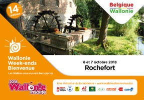 Wallonie Week-end Bienvenue 2018